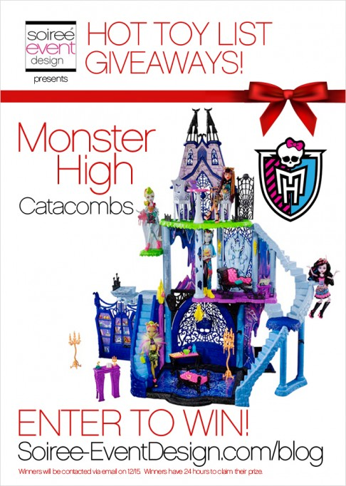 HOT Toy List Giveaway: Monster High Catacombs Playset