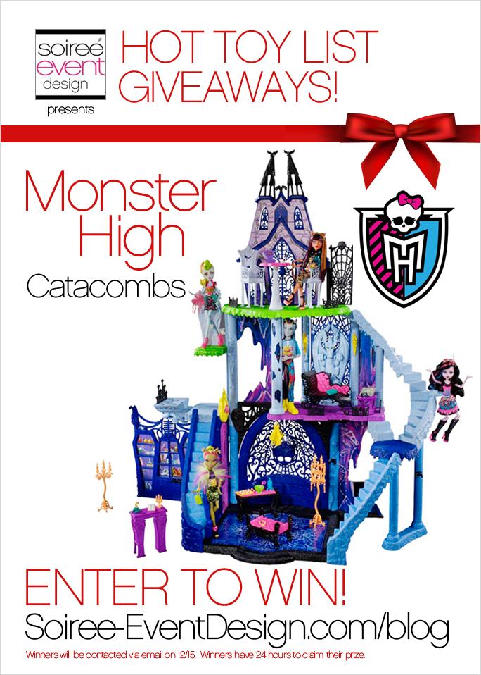 HOT Toy List Giveaway: Monster High Catacombs Playset - Soiree Event