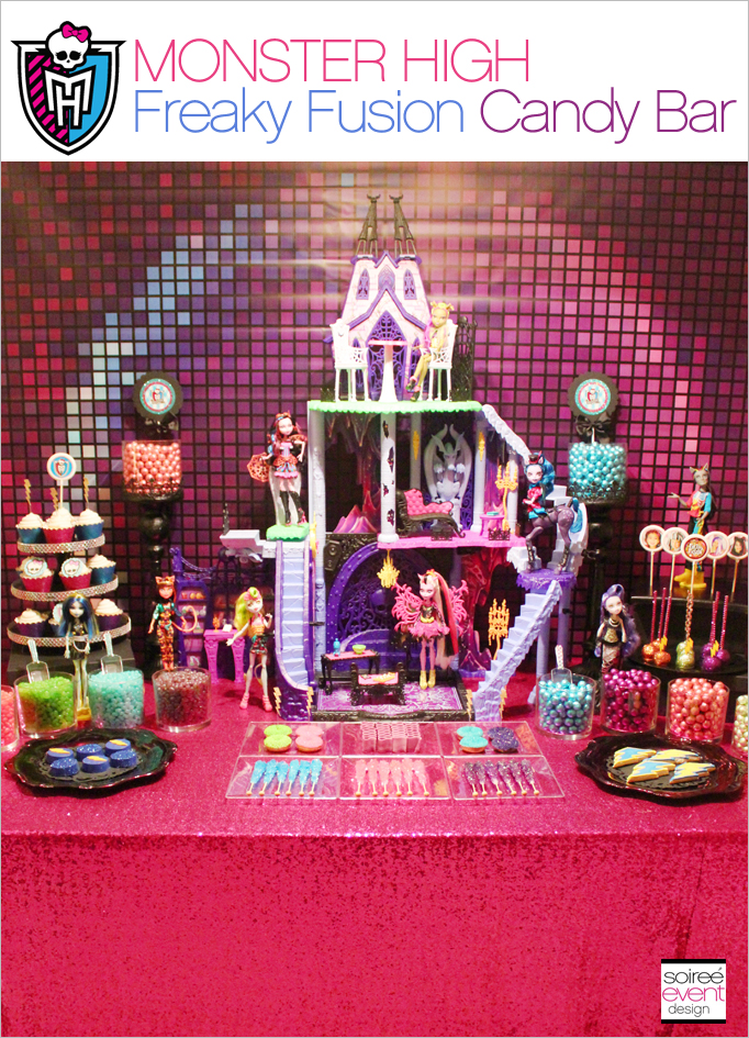 Monster High Freaky Fusion Candy Buffet