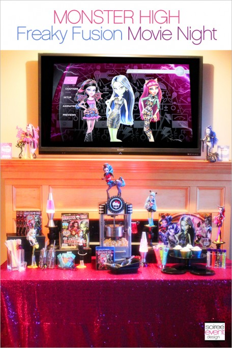 Monster High Freaky Fusion Movie Night