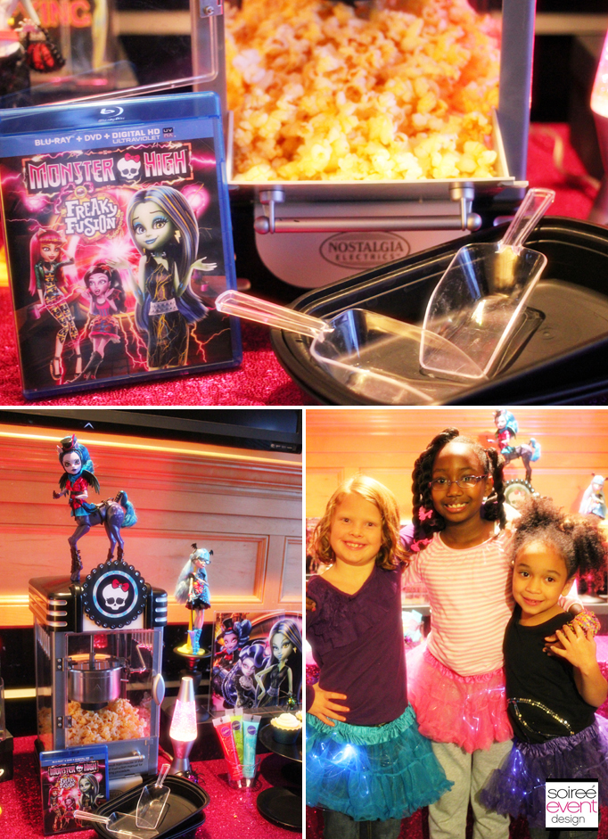 Monster High Freaky Fusion Movie Night Party