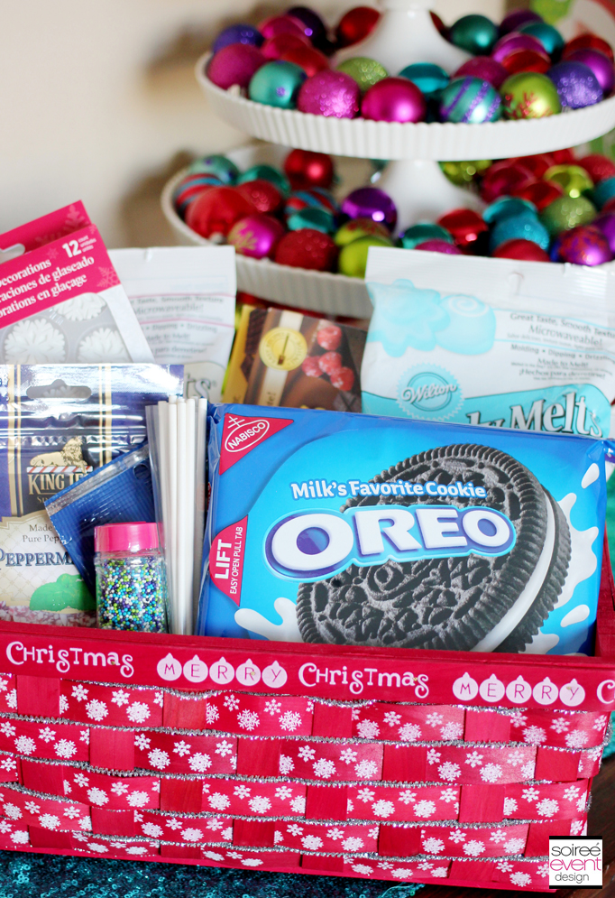 Oreo Cookie Ball Gift Basket