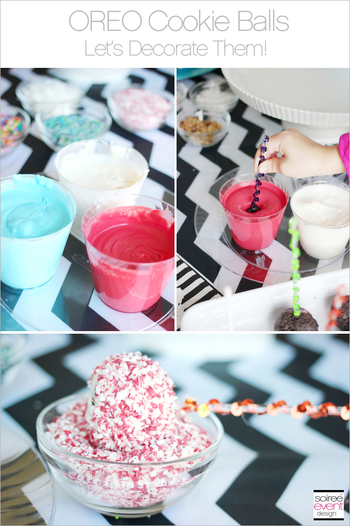 Oreo Cookie Balls Decorate B