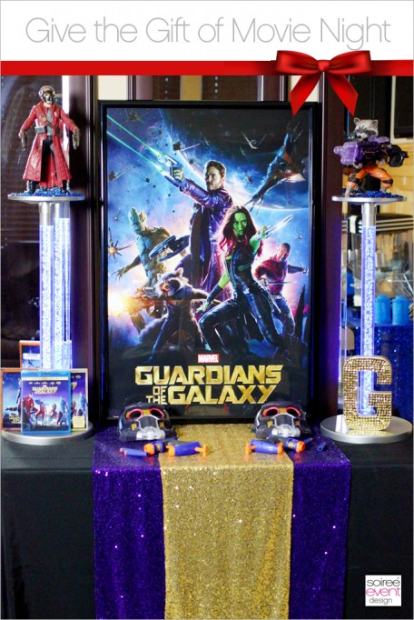 Give the Gift of Movie Night with Guardians of the Galaxy!