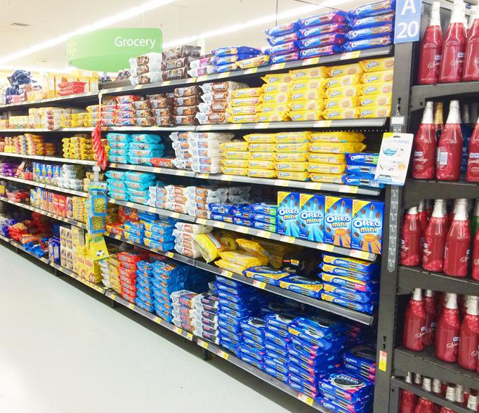 Walmart Cookie Aisle