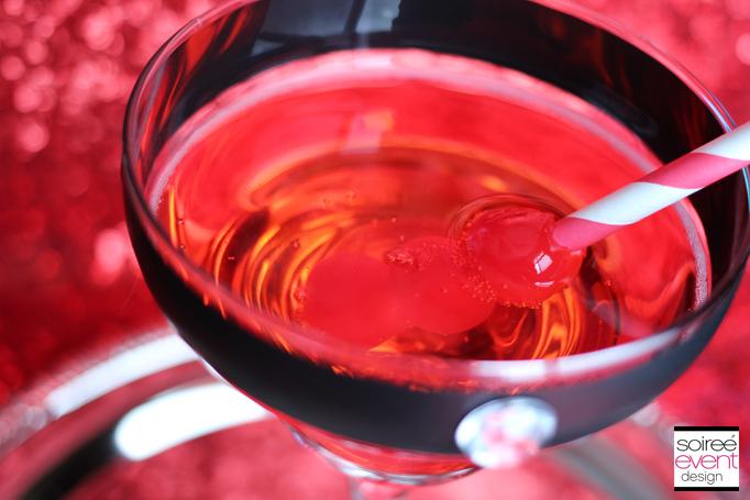 marachino cherry drink garnish