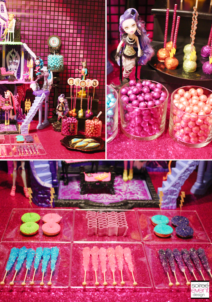 Monster High Party Freaky Fusion Candy Bar Soiree