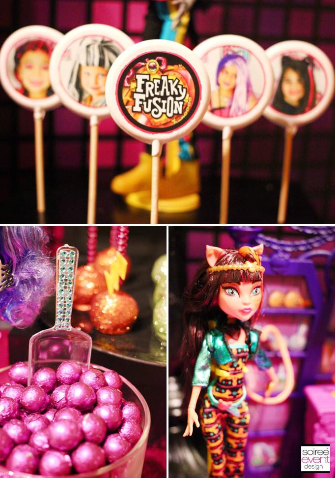 monster high lollipops