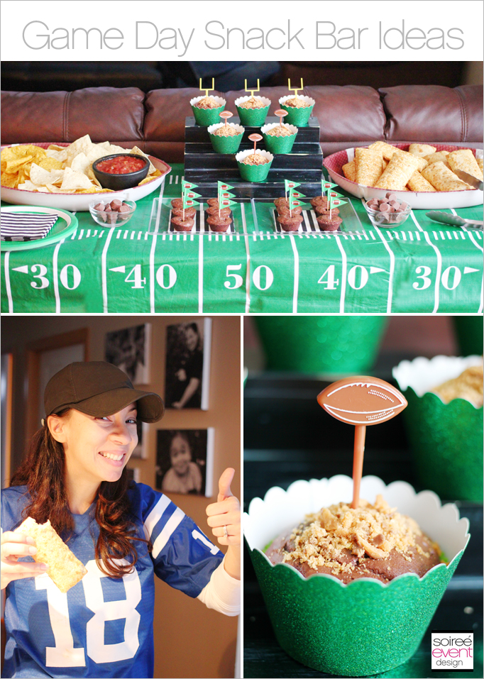 Game day party food ideas sweet savory snack bar for Food bar party ideas