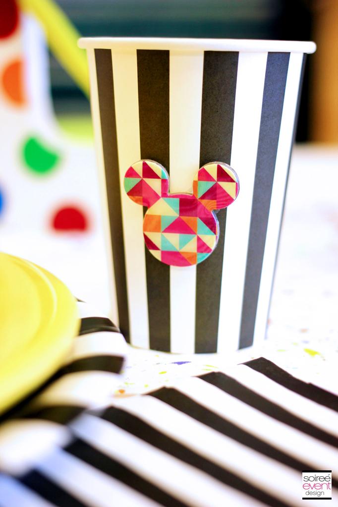 Custom Mickey Mouse cups 2