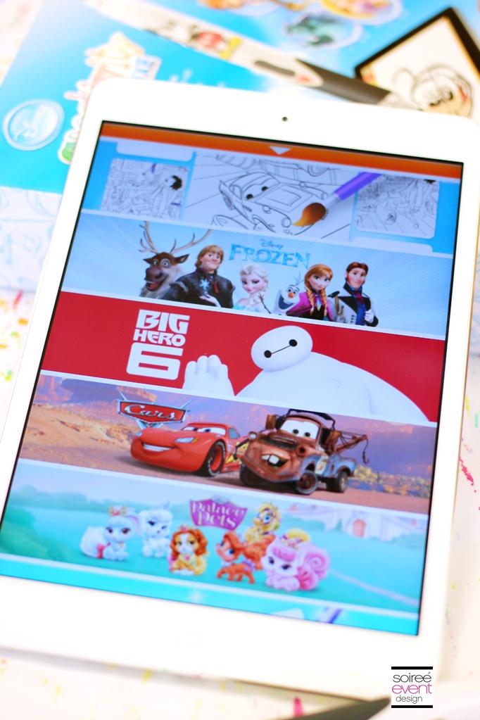 Disney Creativity Studio 2 App Screen