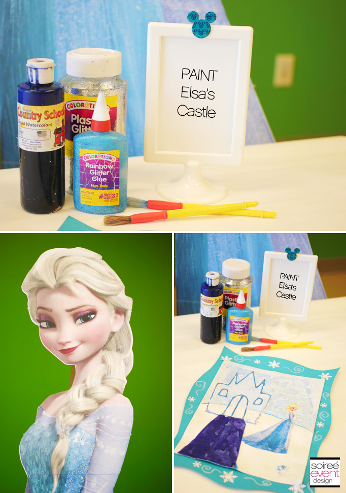 Elsa Art Activity