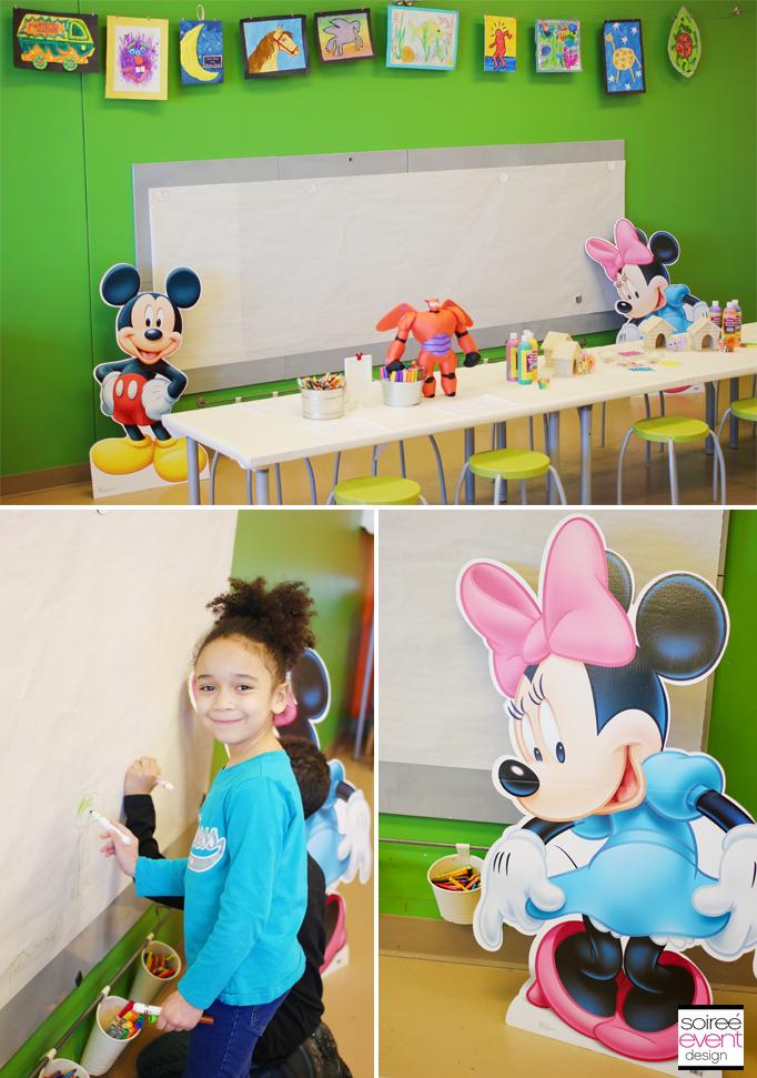 Mickey Minnie Doodle Wall