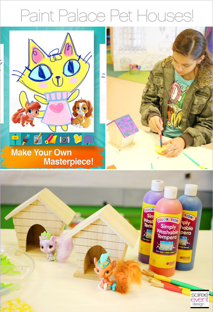 Paint Houses Craft Activity