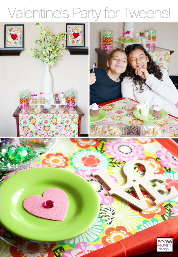 Valentines day party for tweens