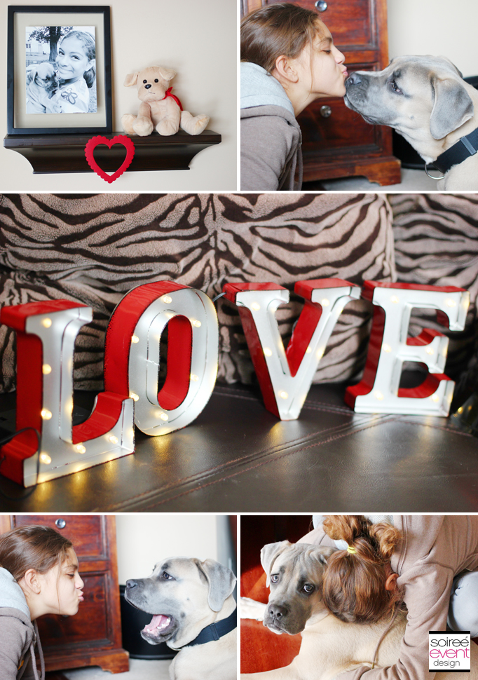 love letter marquee sign