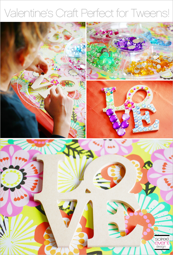 tween valentines craft