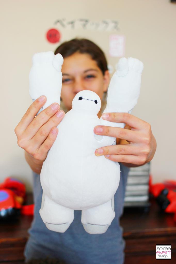 Baymax stuffed toy