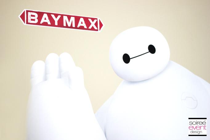 Baymax wall decals
