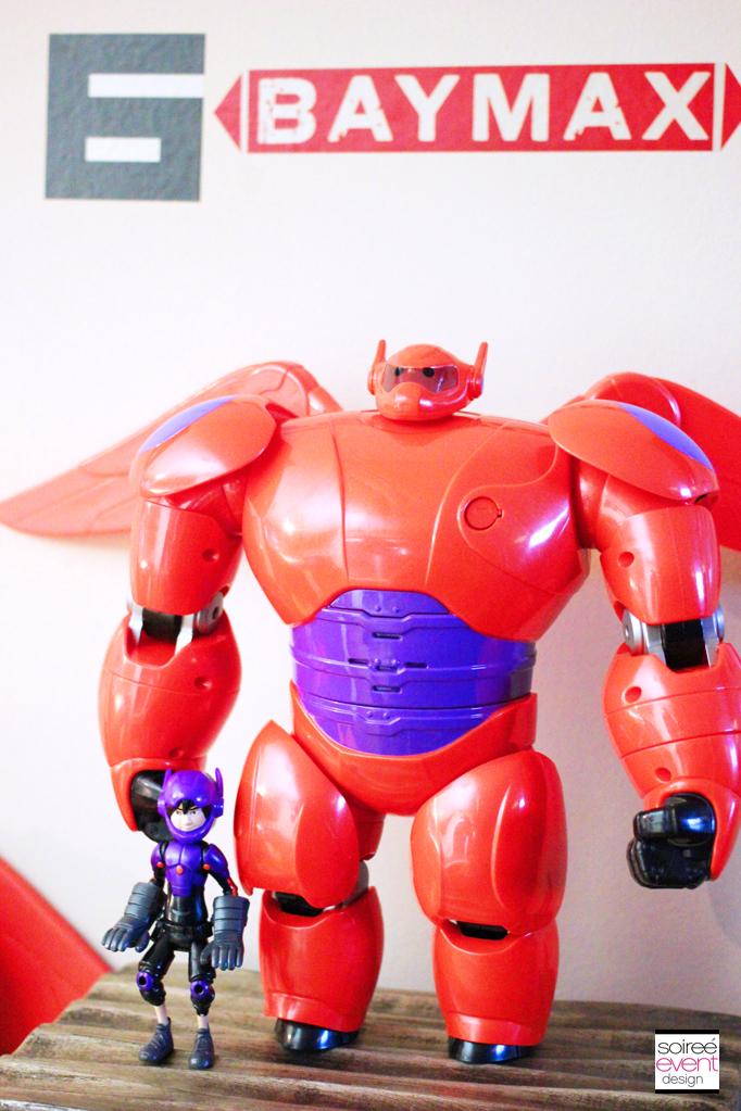 Big Hero 6 Flying Baymax Toy