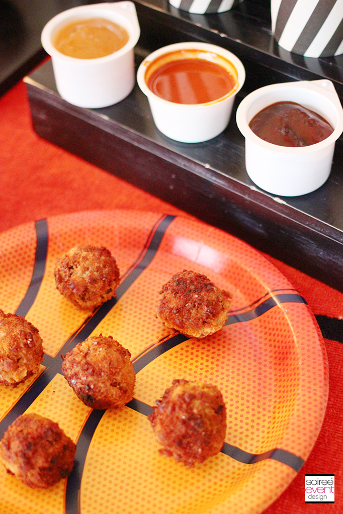 Cheez-It Meatball Dippers