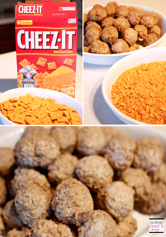 Cheez-It Meatball Recipe Ingredients