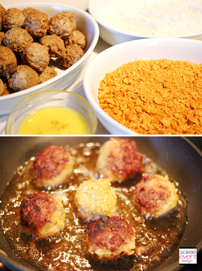 Cheez-It Meatball Recipe Step 2