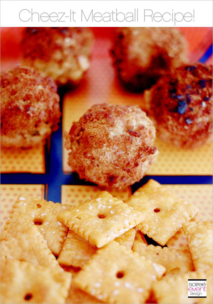 Cheez-It Meatball Recipe