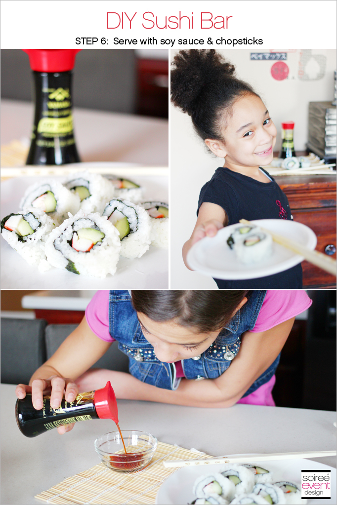 DIY Sushi Bar Step 6