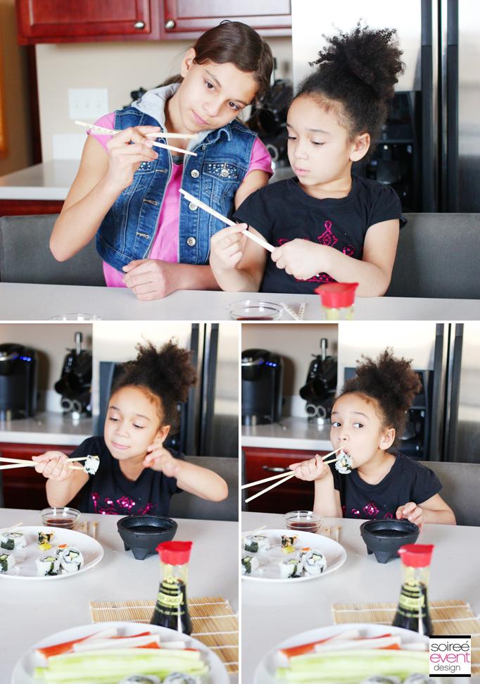 Faith and Riley chopsticks