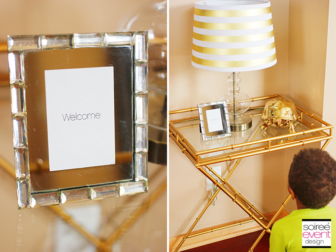 Welcome Frame