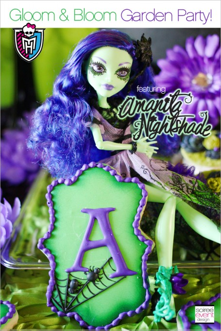Monster High Party – Gloom & Bloom featuring Amanita Nightshade + Giveaway