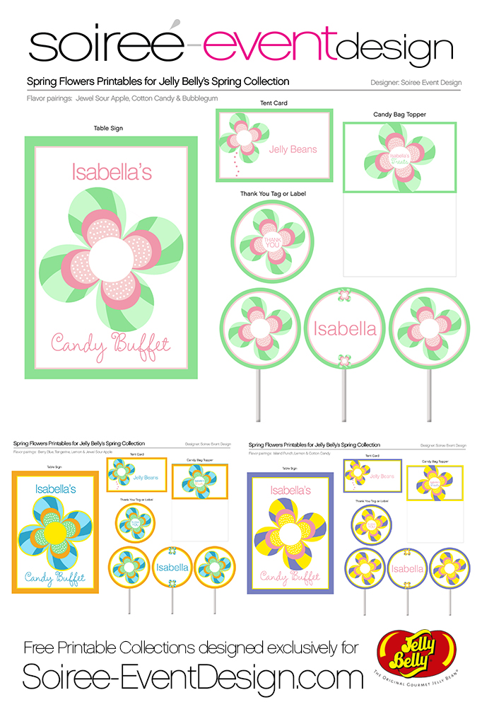 Jelly Belly Collection_Spring Flowers