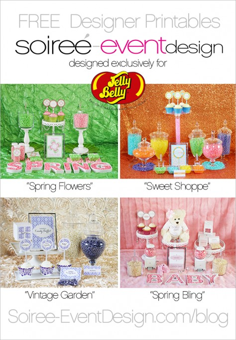 FREE Printables Designed Exclusively for Jelly Belly