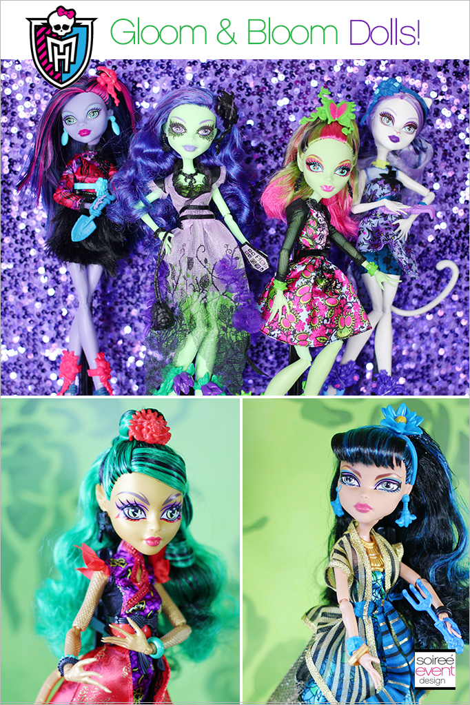 Monster High Gloom and Bloom Dolls