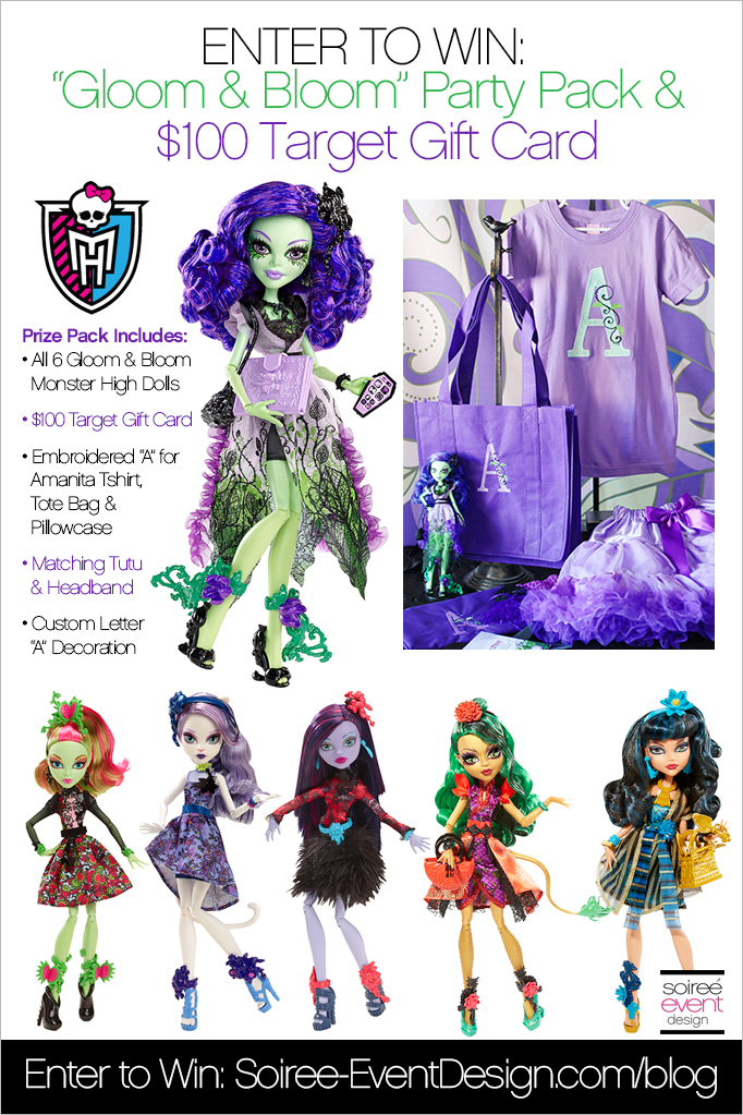 Monster High Gloom and Bloom GIVEAWAY 2