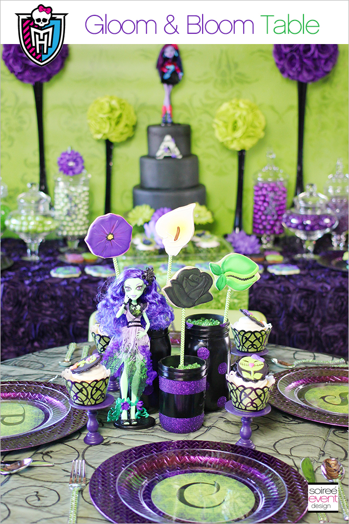 Monster High Party Decorations : monster high table and chairs - Cheerinfomania.Com