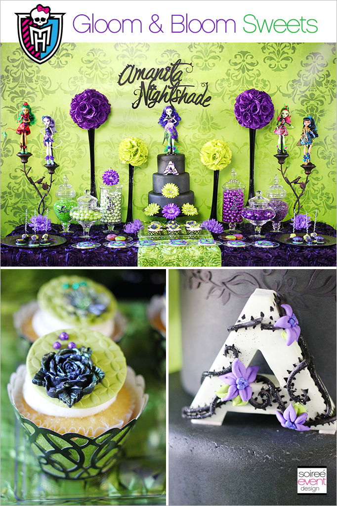 Monster High Party Dessert Table