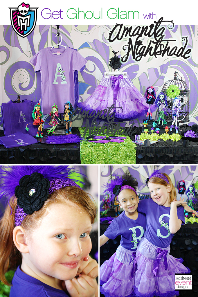 Monster High Party Gloom and Bloom Dress Up Table
