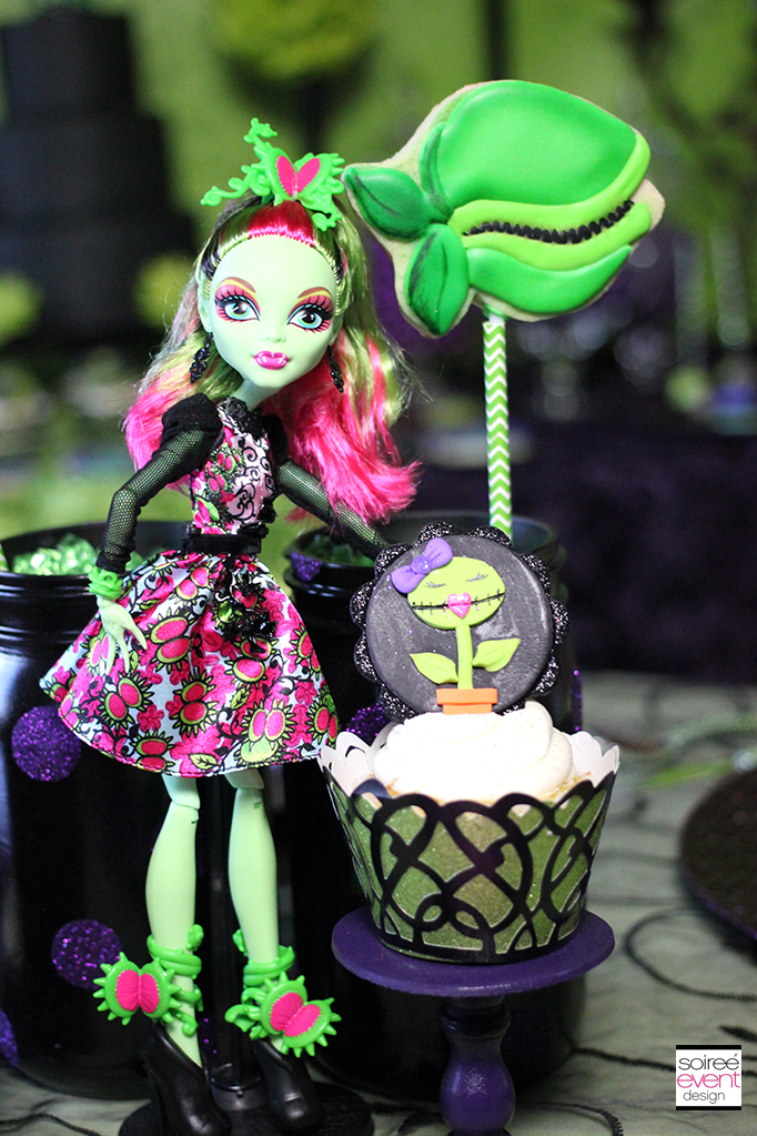 Monster High Venus McFlytrap party