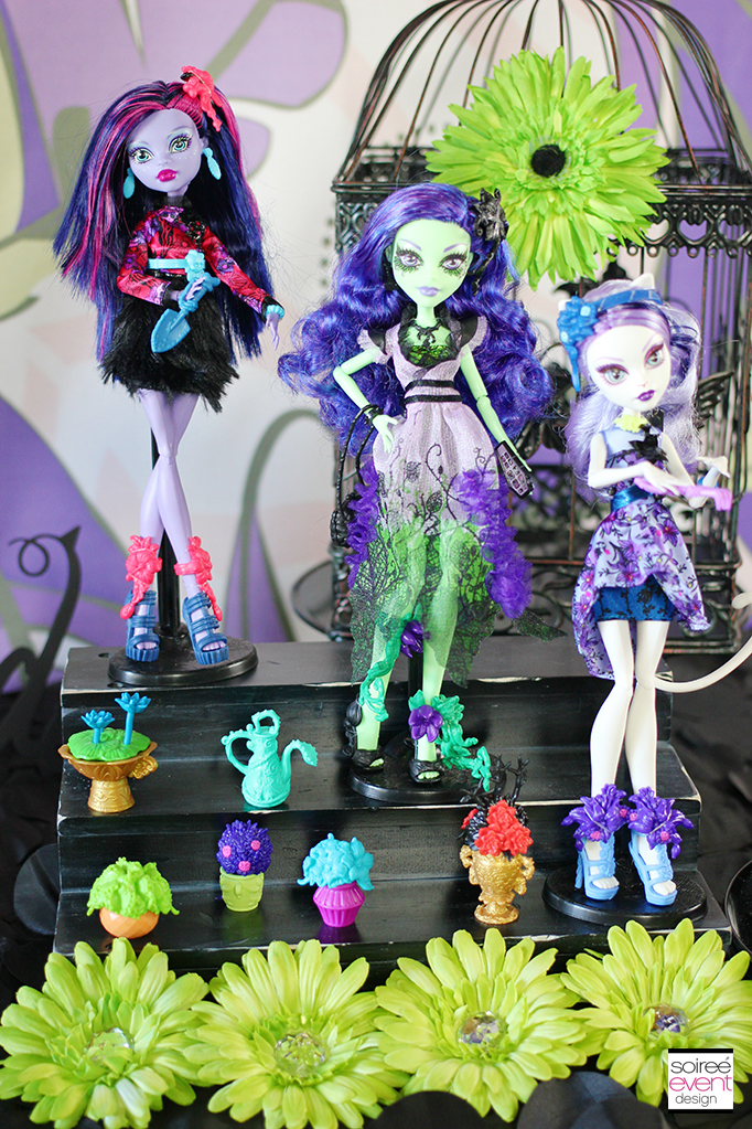 Monster High Party Gloom amp Bloom Featuring Amanita