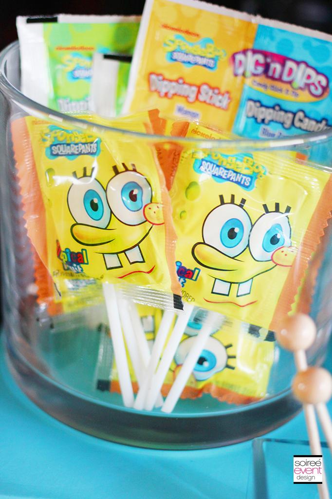 Spongebob Squarepants party candy