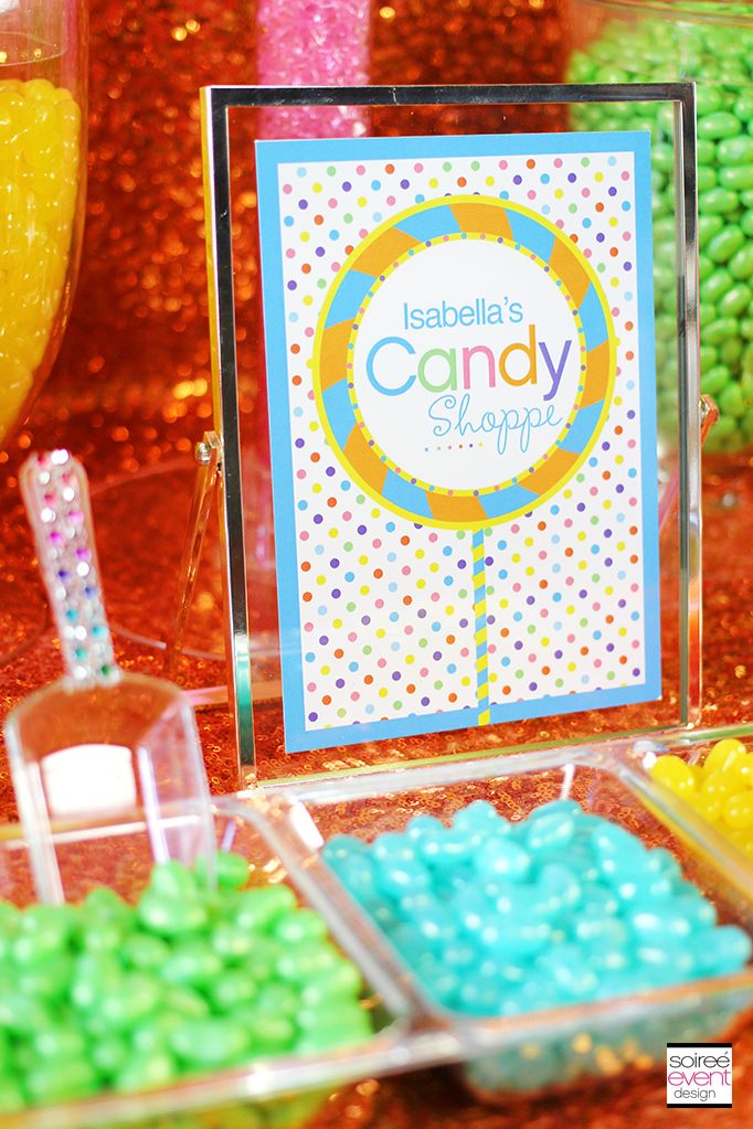 jelly bean candy buffet