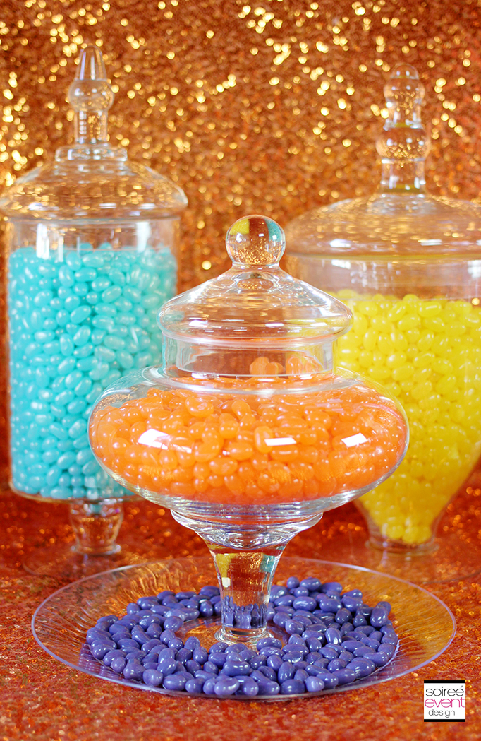 jelly beans apothecary jars