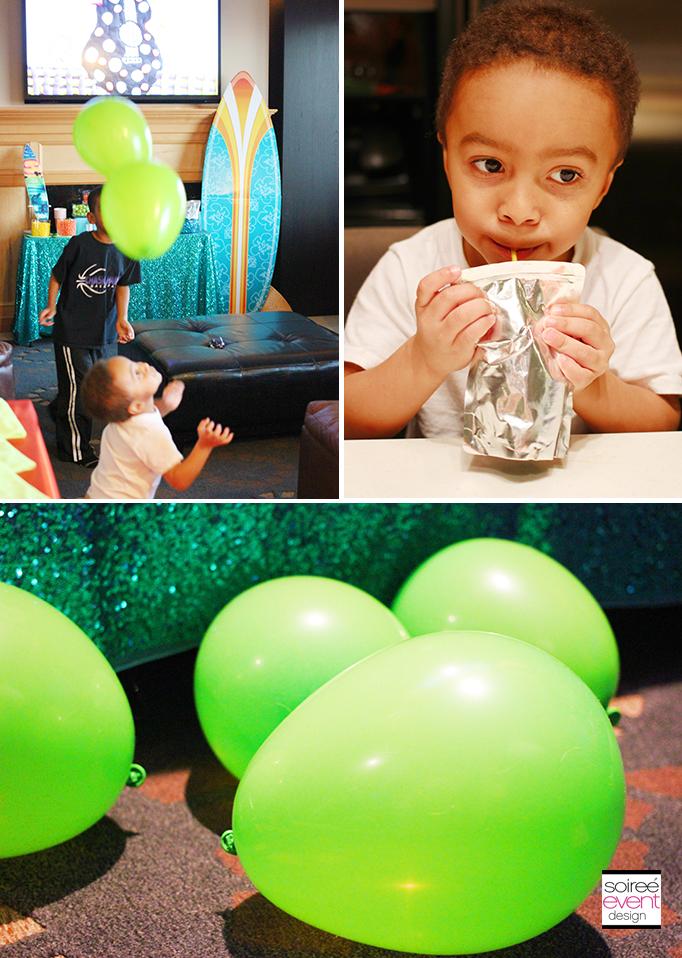 slime ball balloons