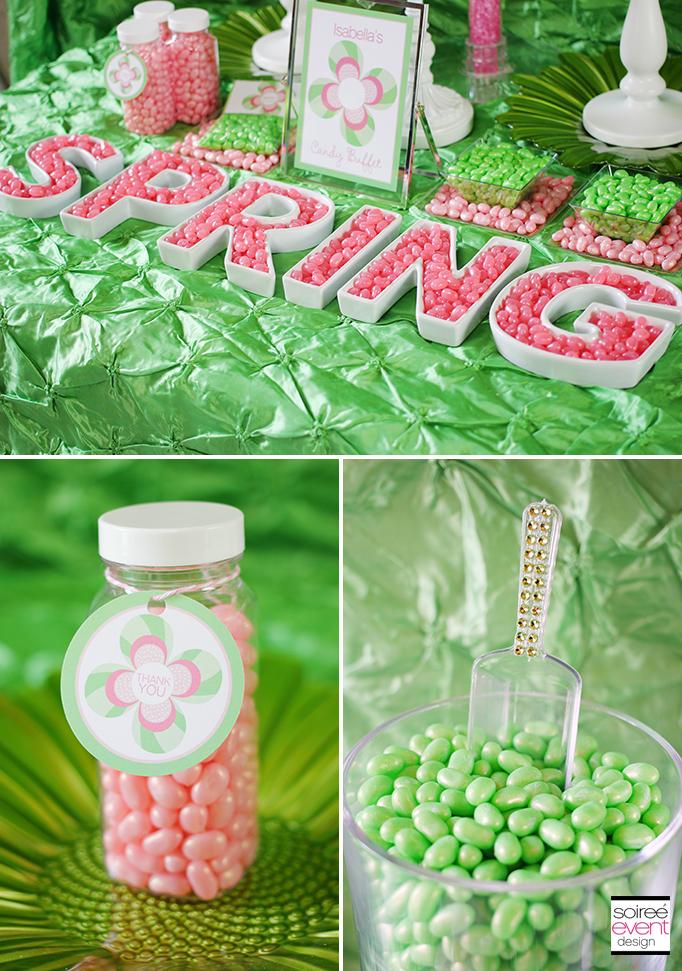 spring ceramic letter dishes