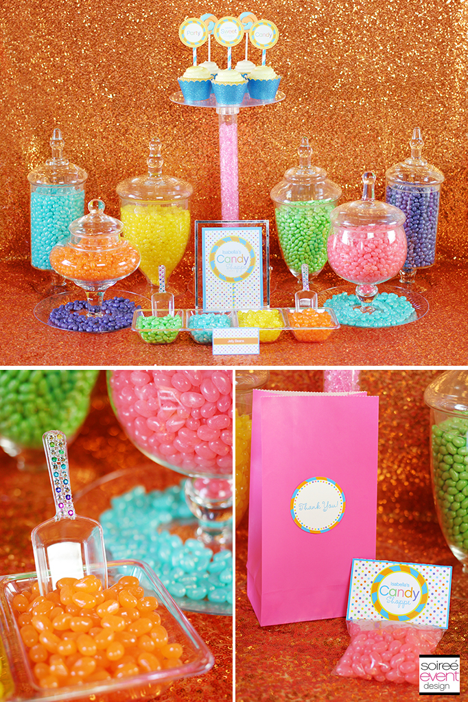 sweet shoppe candy buffet