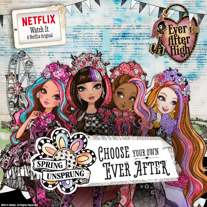 Ever After High Netflix