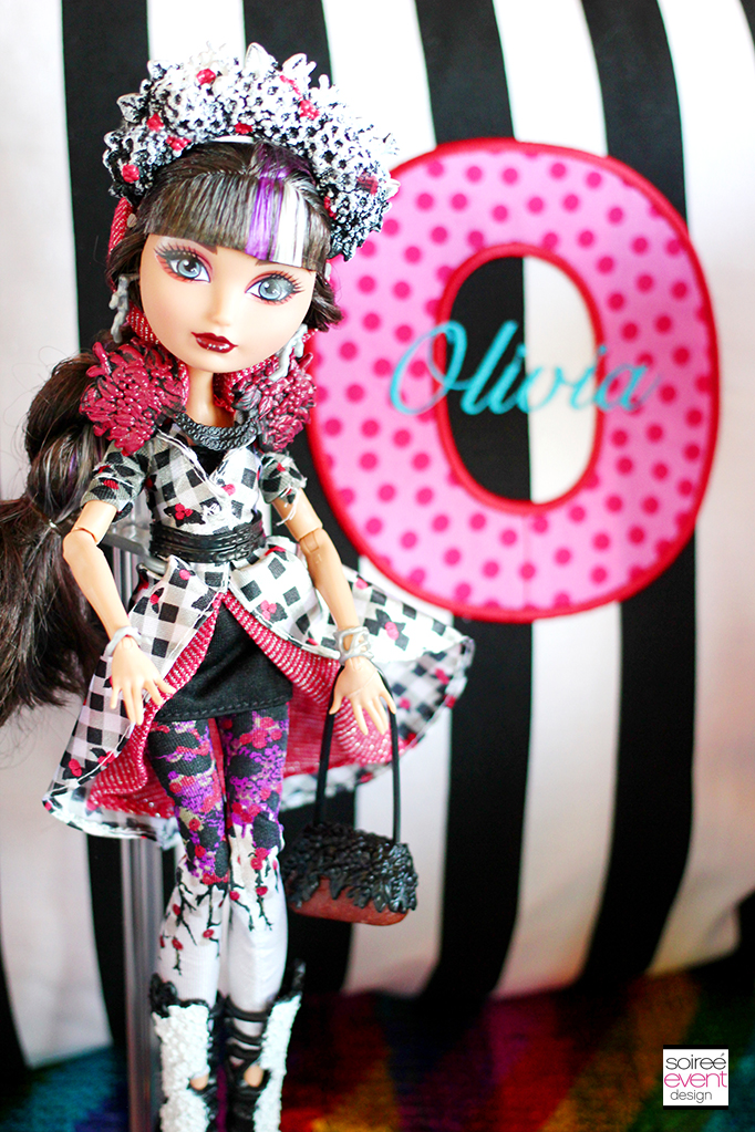 Ever After High Party Cerise Hood