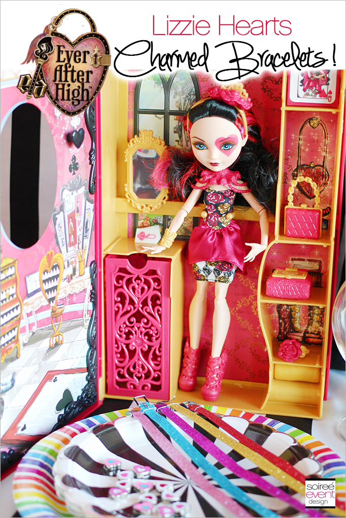 Ever After High Party Spring Unsprung Lizzie Hearts